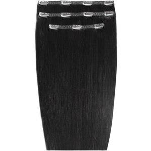 20 Deluxe Remy Instant Clip-in Extensions - Jet Set Black Beauty Works Online Clip 20 Jsb