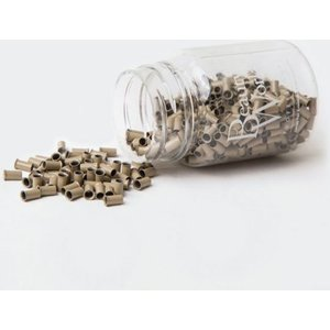 Copper Micro Rings Dark Blonde 500 Pieces Beauty Works Online Mr Cp Dblnd 500