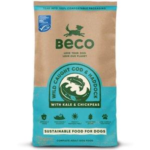 Beco Cod & Haddock Dry Complete Dog Food 12kg X 2