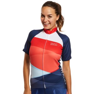 Help For Heroes Trading Women's Tri-colour Cycling Shirt - 14 / Tri Colour Wwclswtr0014tri016 Womens Clothing