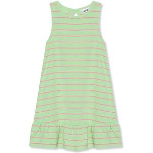 M&co Bow Back Stripe Dress (9mths-5yrs) G - Green 302887900900285, Green