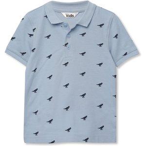 M&co Dinosaur Printed Polo Shirt (9mths-5yrs)  - Blue 302837201000285, Blue