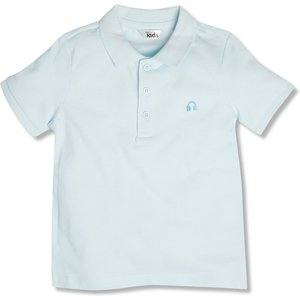 M&co Embroidered Polo Shirt (3-12yrs)  - Blue 321990901910321, Blue