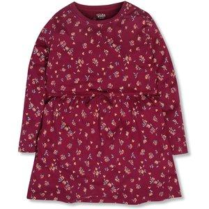 M&co Floral Print Jersey Dress (3-12yrs)  - Purple 312548309990318, Purple