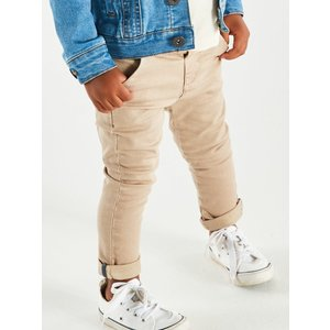 M&co Kids Boys Chino Trousers - Stone 302551900570284, Stone