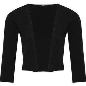 M&co Ladies Cardigan Cover Up  - Black 170431100100124, Black