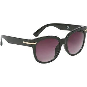 M&co Ladies Gold Trim Sunglasses  - Black 502946500100000, Black