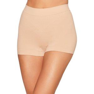 M&co Ladies Seamfree Control Briefs Two Pack Boxer Shorts High Waist  - Black 200556500100134, Black