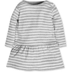 M&co Long Sleeve Stripe Dress (9mths-5yrs)  - Multicolour 303225601700286, Multicolour
