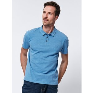 M&co Short Sleeve Polo Shirt  - Blue 901462401000121, Blue