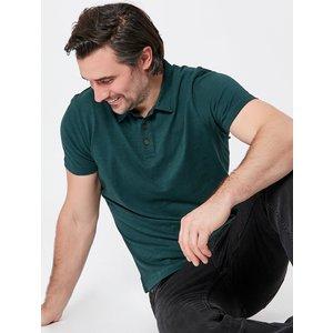 M&co Short Sleeve Polo Shirt G - Green 901462400900122, Green