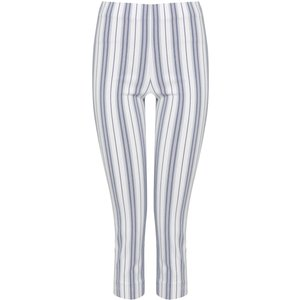 M&co Women's Cropped Bengaline Trousers Ivory 130094600440016, Ivory