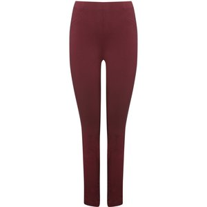 M&co Women's Cropped Trousers Berry Red 130147007050016, Berry Red