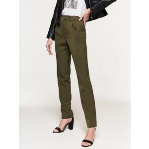 M&co Women's Ladies Crepe Tapered Trousers Khaki 108293000950644, Khaki