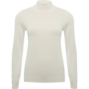 M&co Women's Ladies Roll Neck Jumper Ivory 108918800440018, Ivory