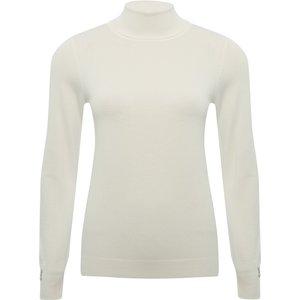 M&co Women's Ladies Roll Neck Jumper Ivory 108918800440016, Ivory