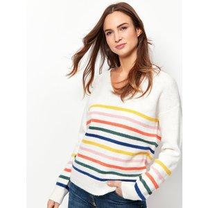 M&co Women's Stripe Jumper Multicolour 109383501700014, Multicolour