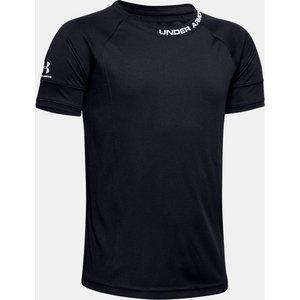 Under Armour Boys' Ua Challenger Iii Training Shirt Black 192810729803, Black