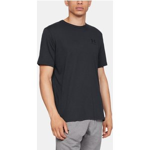 Under Armour Men's Ua Sportstyle Left Chest Short Sleeve Shirt Black 192007420650, Black