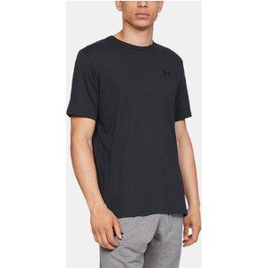 Under Armour Men's Ua Sportstyle Left Chest Short Sleeve Shirt Black 192007420629, Black