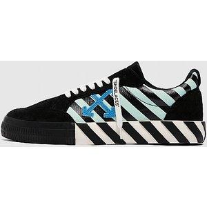 Off White C/o Virgil Abloh Low Vulcanized Cow Print Sneaker 4054622105 Mens Footwear