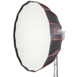 Pixapro 105cm (41) 16-sided Easy-open Rice-bowl Softbox With Silver Interior