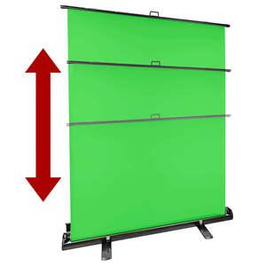 Pixapro 1.5mx2m Foldaway Background Stand With Chromakey Green Background
