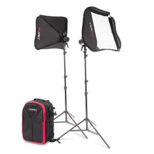 Pixapro Citi100 Pro Twin Softbox Backpack Kit