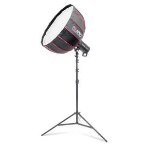 Pixapro Cob60d Led Studio Light And 65cm Ricebowl Softbox Kit
