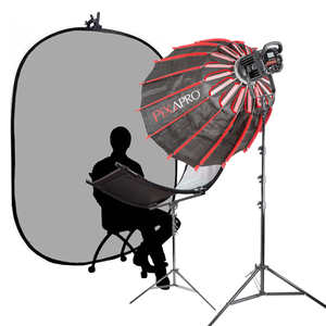 Pixapro Commercial Headshot Interview Documentary Complete  Lighting Kit (led100b Mkiii)