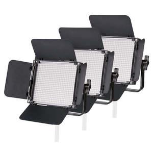 Pixapro Leco 500b Ii Bi-colour Led Video Light Three-head Panels