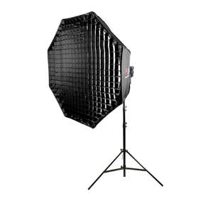 Pixapro Led200d Mkiii With 150cm Umbrella Softbox And 300cm Stand