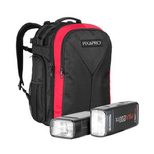 Pixapro Pika200 Twin Kit With Backpack