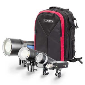 Pixapro Pro Complete Kit With Backpack (citi600/citi400/citi300/pika200 Pro)