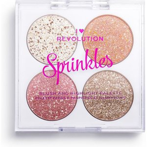 Discover I Heart Revolution Blush & Sprinkles Frosted Cupcake  1088749 Cosmetics & Skincare
