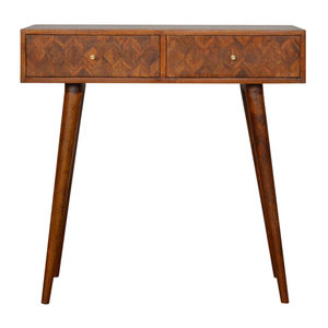 Artisan Furniture Assorted Chestnut Console Table