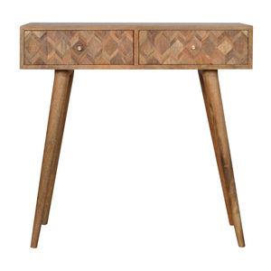 Artisan Furniture Assorted Oak-ish Console Table
