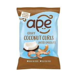 Ape Coconut Curls 20g X 10 - Chocolate Snacks