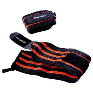 Biotechusa Accessories Bedford 8 Wrist Wrap, Black Red - 35cm Bodybuilding, Powerbody