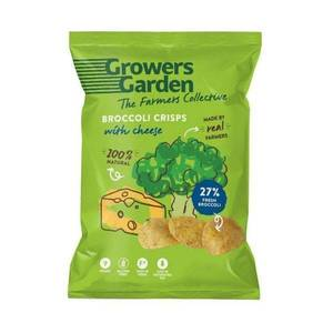 Growers Garden - Broccoli Crisps With Cheese 78g (x 12pack) Snacks And Treats
