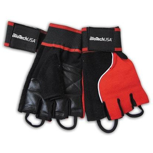 Biotechusa Accessories Memphis 1 Gloves, Red Black - X-large Bodybuilding, Powerbody