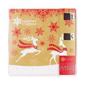 Montezuma's Chocolate Advent Calendar - Dark 240g X 5 Food & Drink