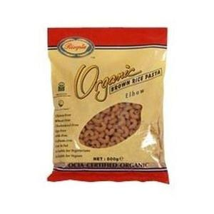 Rizopia Organic Brown Rice Elbows 500g Pasta