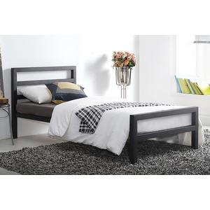 Croft Bedframe - Single - Black Metal Beds