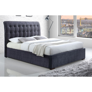 Penrose King Bedframe - Dark Grey Upholstered Beds