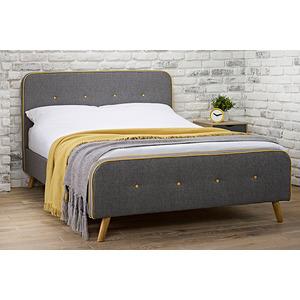Piper King Bedframe Upholstered Beds