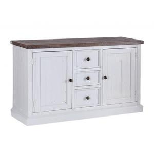 Cheltenham Wooden Painted Wide Sideboard With 2 Doors & 3 Drawers (reclaimed) Shabby Chic
