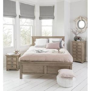 Country Home Grey Lime Wash Double Bed (recycled)
