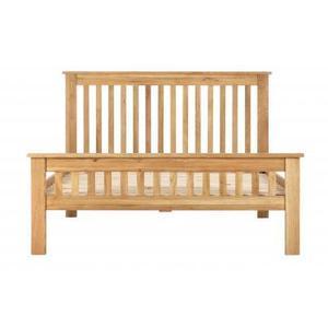 Dorchester Compact Oak 4ft 6 Double Bed
