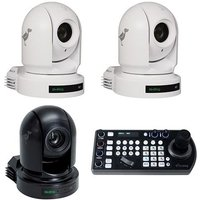 Birddog 2x P200 White, 1x P2000 Black, And 1x Free Ptz Keyboard Controller Bdp200maypromo Bww